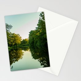 Great River Ouse from a boat (4) Stationery Cards