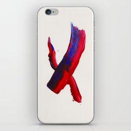 XOX Print iPhone Skin