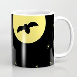 Midnight Flight Yellow Coffee Mug