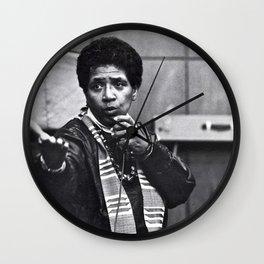Audre Lorde - Black Culture - Black History Wall Clock