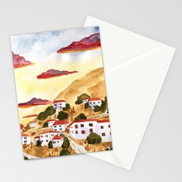 Hydra at Sunset Stationery Cards