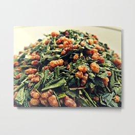 Tea: Genmaicha Metal Print