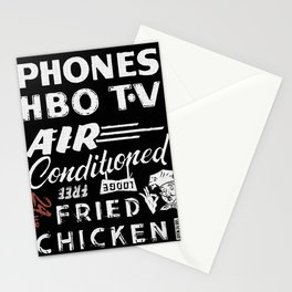 TV Phones Stationery Cards