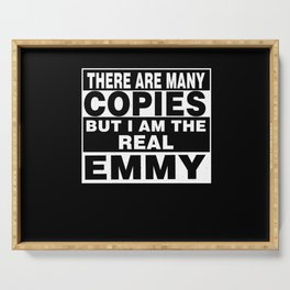 I Am Emmy Funny Personal Personalized Gift Serving Tray