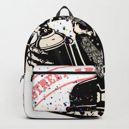 Street art vandalism familia Backpack