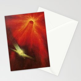 Satellite Probe Stationery Cards