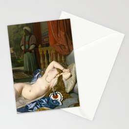 "Jean-Auguste-Dominique Ingres ""Odalisque with Slave"" Stationery Cards"