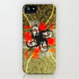BeardFlower iPhone Case