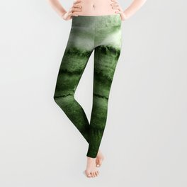 WITHIN THE TIDES FOREST GREEN by Monika Strigel Leggings
