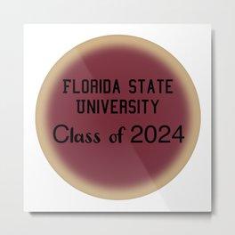 Florida State  Metal Print