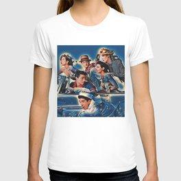 Friends Tv Show Merchandise Picture Joey Ross rachel T-shirt