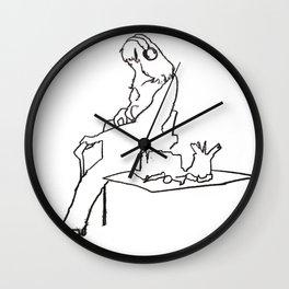 Artist Block Wall Clock