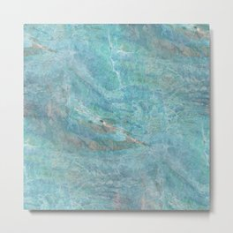 Portal to the Divine: Abstract Graphic Design Metal Print