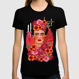 Frida Bouquet T-shirt