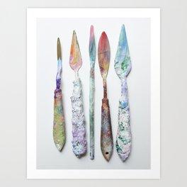 Artist Tools Art Print