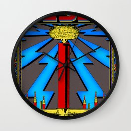 Tesla Coil Wall Clock