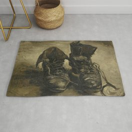 Vincent van Gogh - Boots Rug