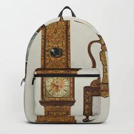 Vintage Edwardian Furniture Illustration Backpack