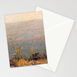 Canyon Scene with Aloes landscape painting by J.H. Pierneef Stationery Cards