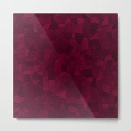 Geometric Shapes Fragments Pattern 2 wr Metal Print