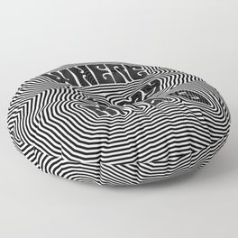 Where Is My Mind (Trippy) Floor Pillow