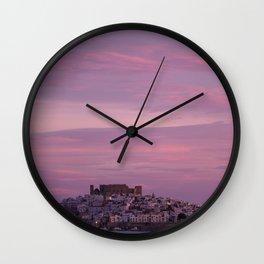 Peñíscola, Spain Wall Clock