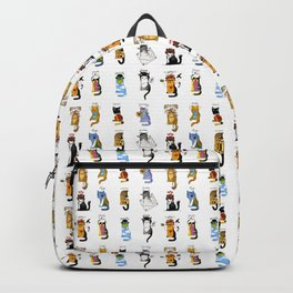 Legendary Art cats - Great artists, great painters. Backpack