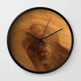 Wood Grain Wood Texture Wall Clock