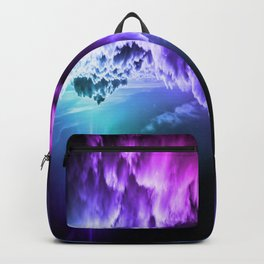 Cool Tone Ombre Clouds Backpack