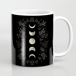 Moonlight Garden - Olive Green Coffee Mug
