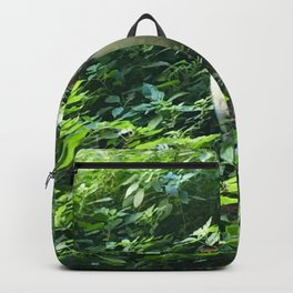 Cat in the Leaves Backpack