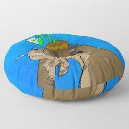Modern Ancestor Floor Pillow