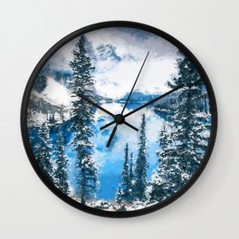 Canada, Moraine Lake Wall Clock