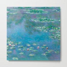 Claude Monet - Water Lilies Metal Print