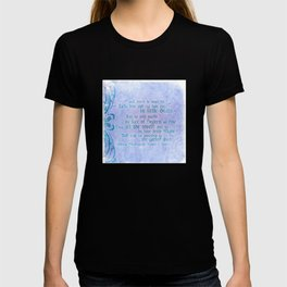 """' Take him and cut him out in little Stars"""" Romeo & Juliet - Shakespeare Love Quotes T-shirt"""