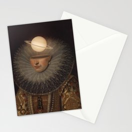 Mrs. Saturn Stationery Cards