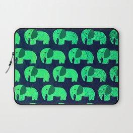 fluorescent elephant ecopop Laptop Sleeve