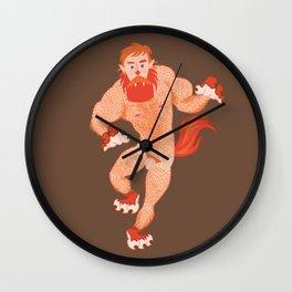 Ivo's Werewolf Wall Clock