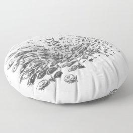 School of fish Floor Pillow