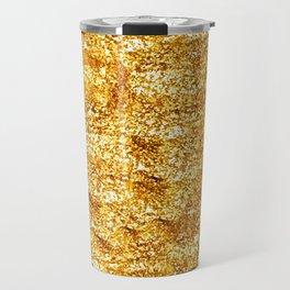 Gold Glittering Gold Travel Mug