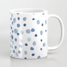 Explosion of Blue Confetti Coffee Mug