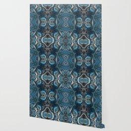 Mysterious space mandala Wallpaper