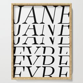 Jane Eyre Serving Tray