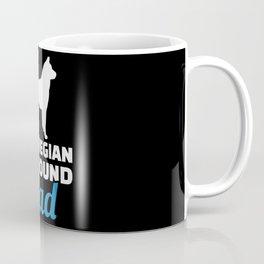 Norwegian Elkhound dad Coffee Mug