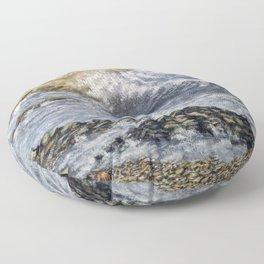 Mumbles Point Floor Pillow