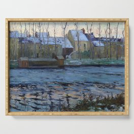 Maurice Cullen Moret, Winter Serving Tray