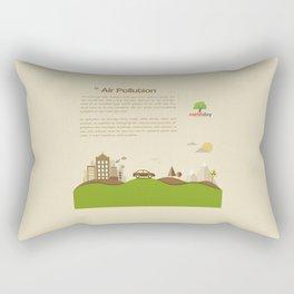 Air Pollution  Rectangular Pillow
