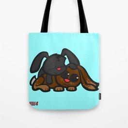 Cuddle Bunnies Tote Bag