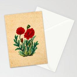 Minhwa: Poppy: Carmin A Type Stationery Cards