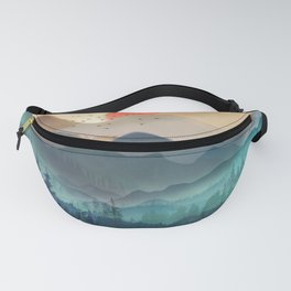 Wilderness Becomes Alive at Night Fanny Pack